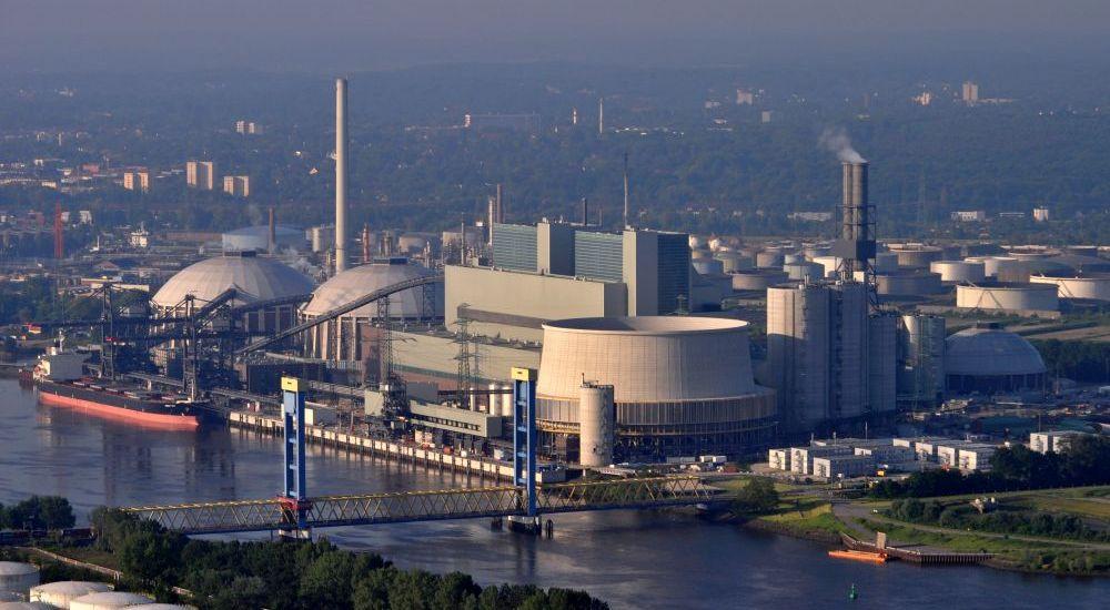 343 svarů, elektrárna Moorburg v Německu, tepelné zpracování kovů